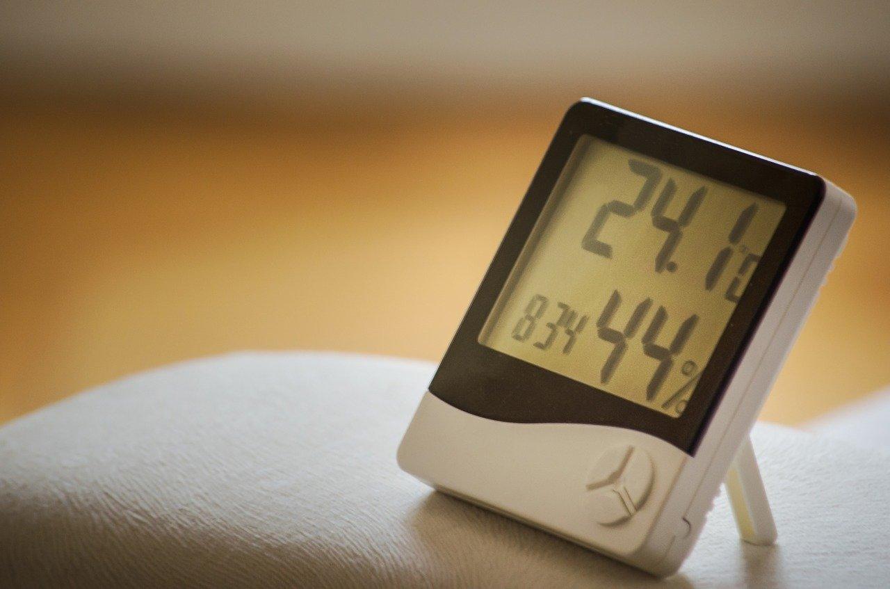 momento de la, reloj, humedad