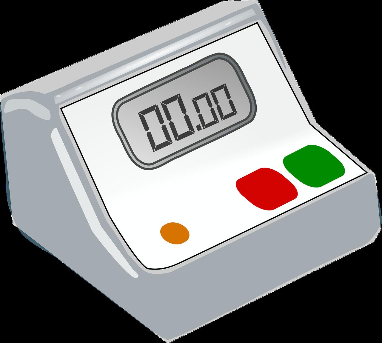 reloj digital, reloj despertador, tiempo