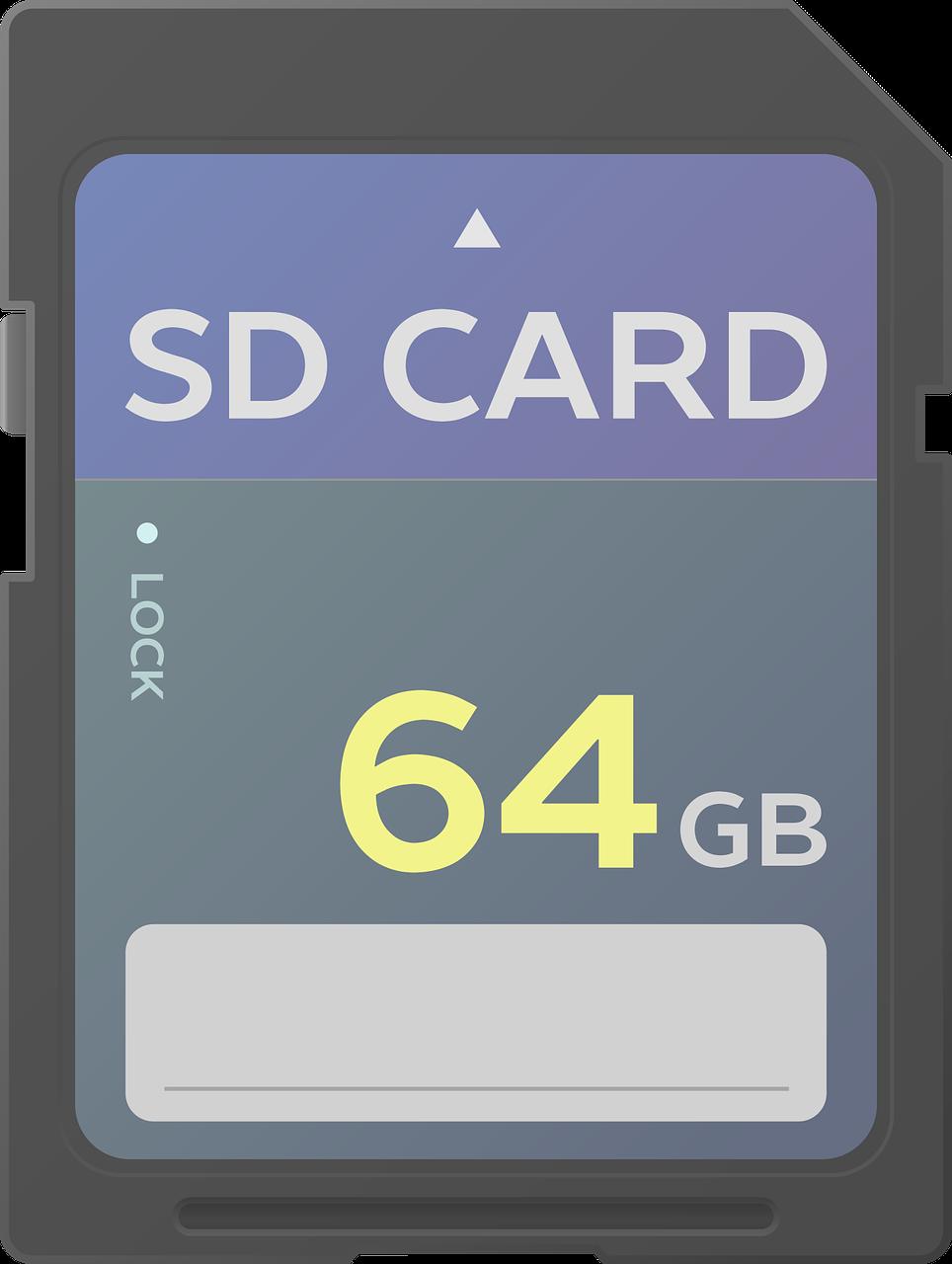 tarjeta sd, sd, almacenamiento de información