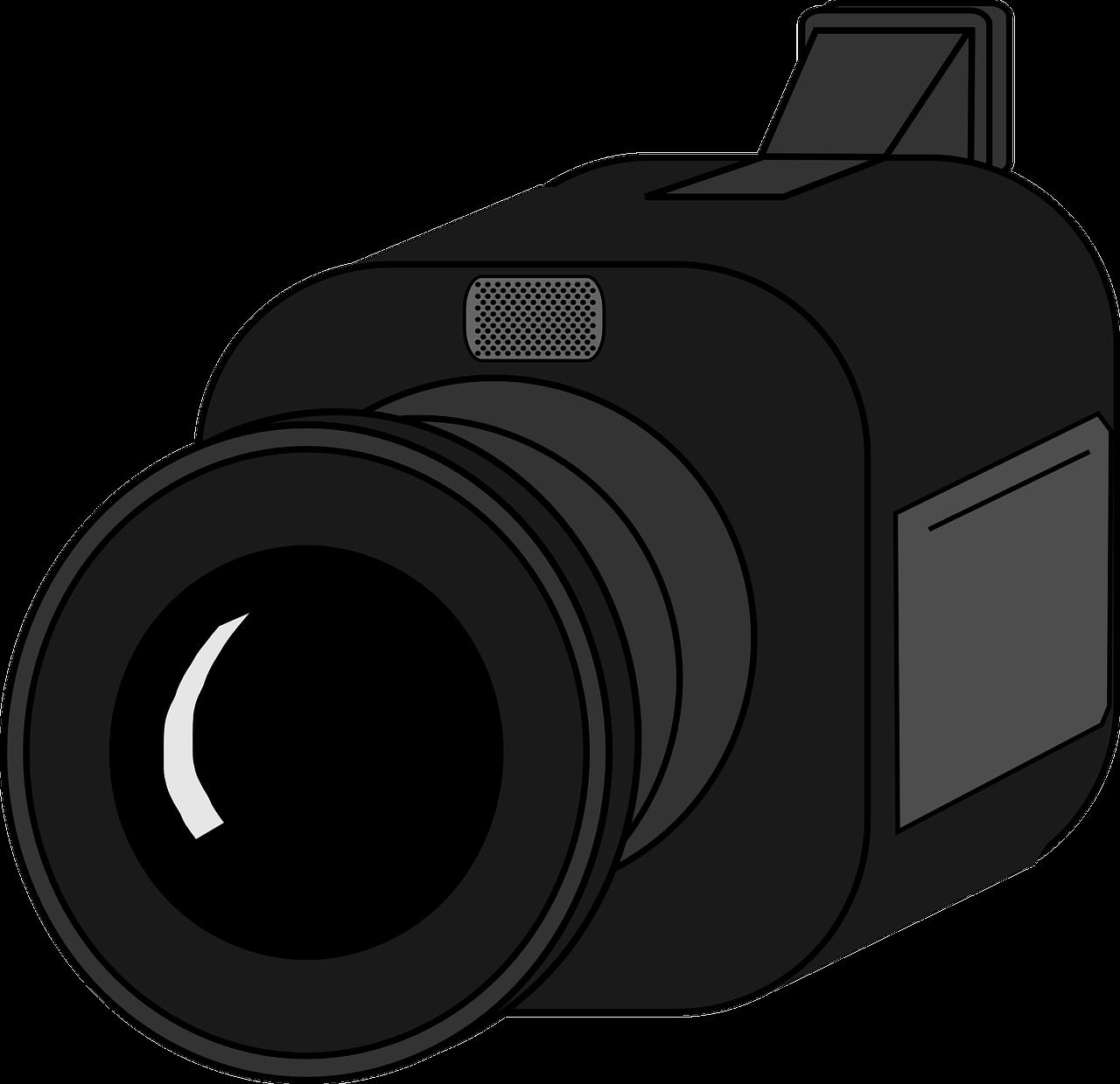 videocámara, cámara, película