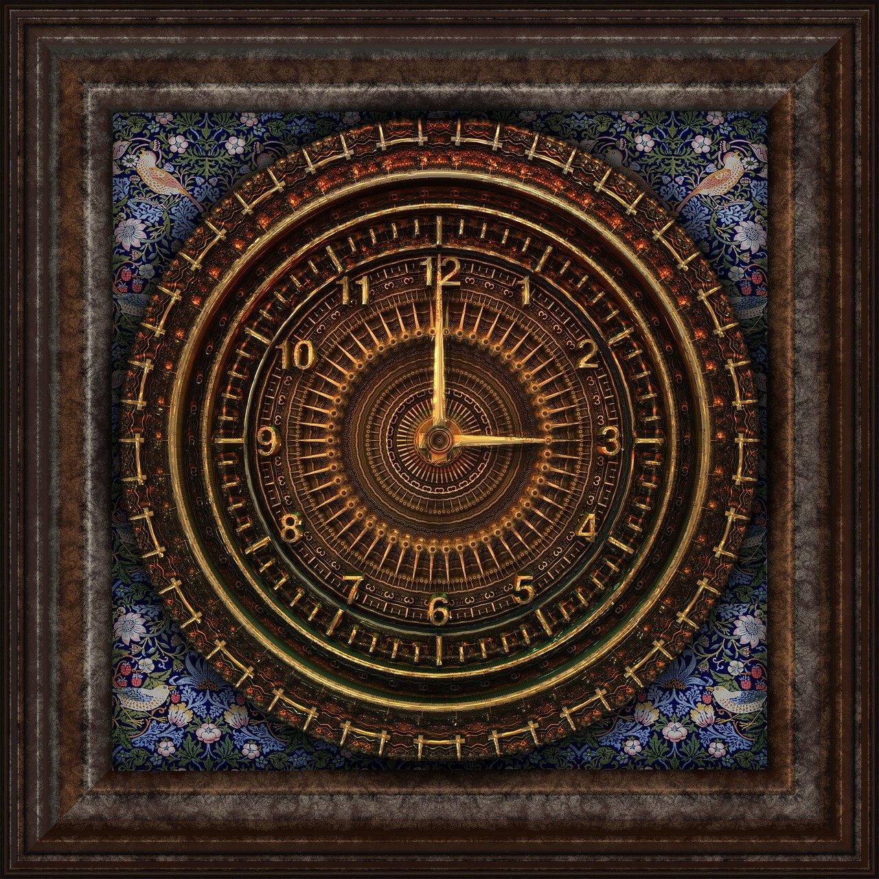 steampunk, reloj, victoriana