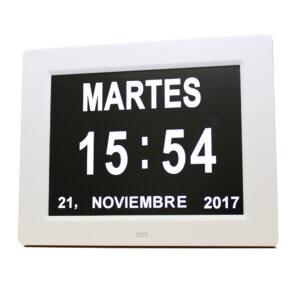 digital calendario reloj