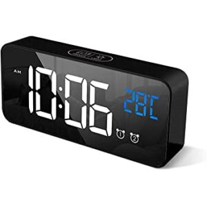 reloj digital alarmas