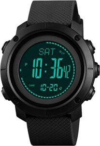 reloj digital barometro