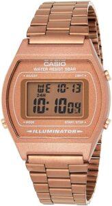 reloj digital cobre