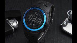 reloj digital elegante