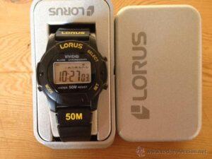 reloj digital lorus