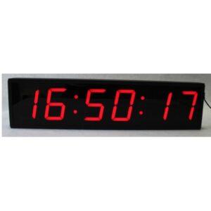 reloj digital segundos