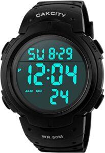 reloj digital waterproof