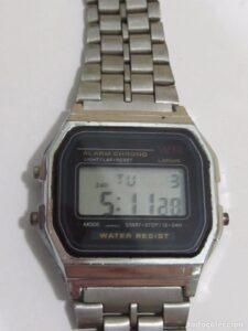 reloj digital wr