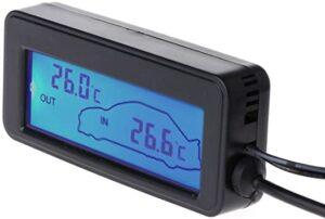 termometro coche digital