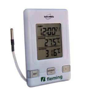 termómetro digital ambiente